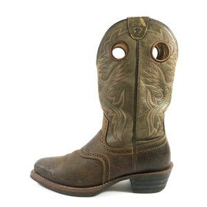 Ariat Heritage Roughstock Square Toe Western Cowboy Boots